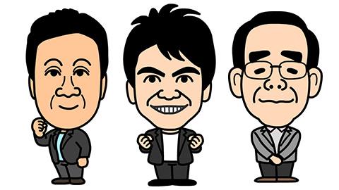 NHK ラジオパーソナリティ似顔絵画像